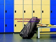 FMH phenolic resign compact laminate lockers