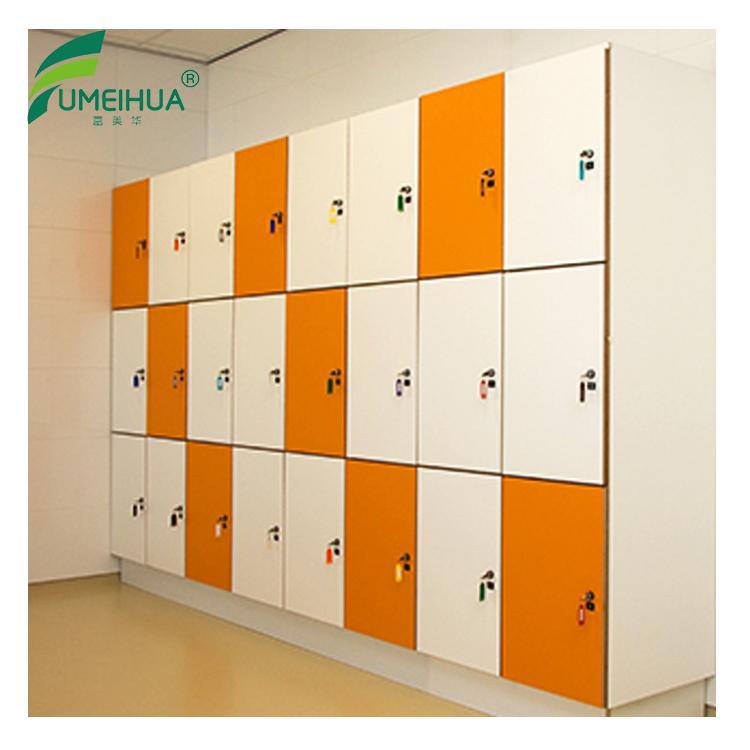 Fireproof phenolic compact lamination lockers 5