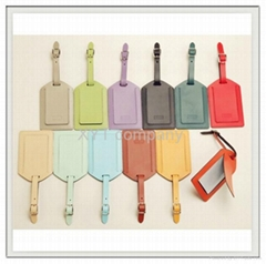 OEM customize unique beautiful simple luggage tag