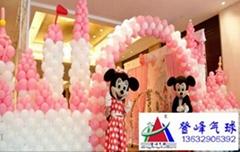 2016   生日禮品氣球裝飾