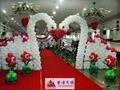 深圳婚禮會場氣球裝飾