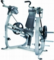 plate loaded equipment biceps curl