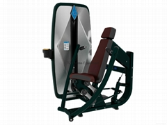 fitness equipment seated chest press