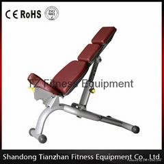 fitness gym equipment adjustable bench