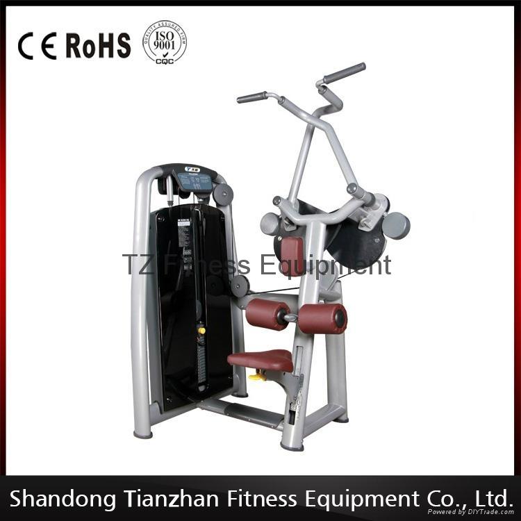 Indoor gym equipment lat pulldown tz tianzhan