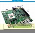 170*170 mini itx motherboard support intel I3 / I5 /I7 CPU 3