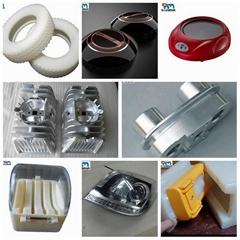 Plastic and metal cnc milling machining prototype