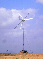 2014 New Horizontal Axis Wind Power Generator for home use