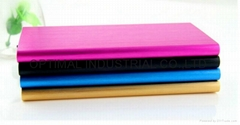Factory hot selling ultra thin touch screen 4000mah portable mobile power bank (Hot Product - 1*)