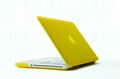"""Rubberized Hard Case Cover for Apple Macbook Pro 15.4"""" .--Yellow 2"""