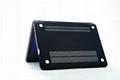 "Rubberized Hard Case Cover for Apple Macbook Pro 15.4"" .--Black 3"