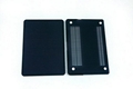 "Rubberized Hard Case Cover for Apple Macbook Pro 15.4"" .--Black 5"