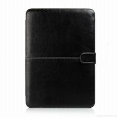 Macbook 11.6'' PU皮套 公文皮套 風馬紋可折疊皮套 黑色