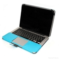 PU leather case shell for macbook Pro 13.3'' 4