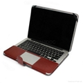 PU leather case shell for Macbook Pro 13.3 Retina  3