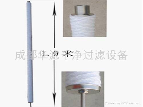 電廠用線繞式凝結水濾元 1