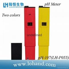 Pocket-size PH Meter PH-107 in factory price