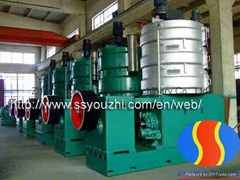 Large Scale Rice bran oil press machine for Oil Mill