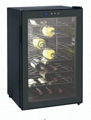 电子恒温酒柜产品型号:DK68A