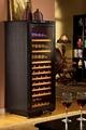 經典仿皮黑恆溫酒櫃 DK160