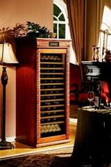 美式仿古實木恆溫酒櫃產品型號:DK660