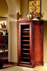 美式仿古實木恆溫酒櫃產品型號: