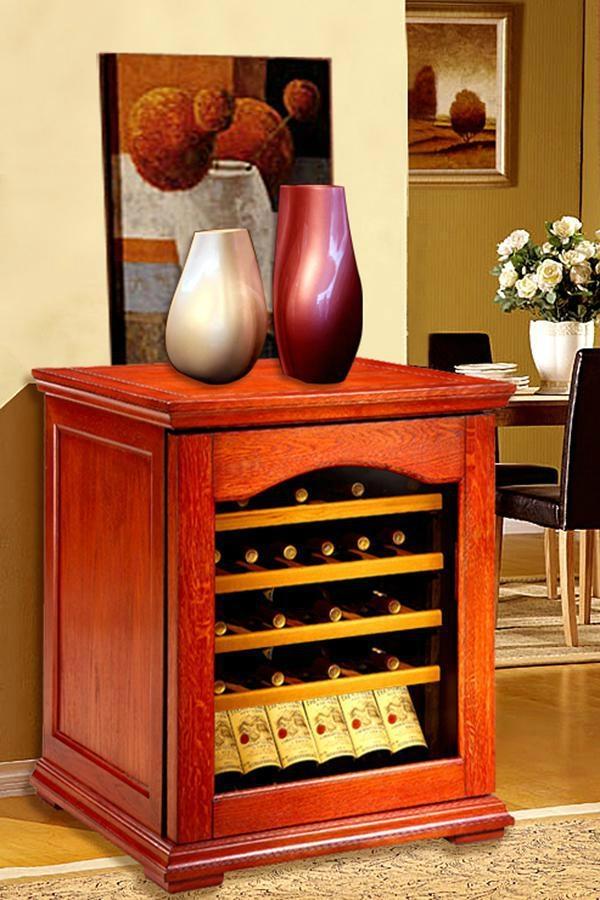 歐式實木恆溫酒櫃產品型號:DK320 1