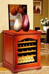 欧式实木恒温酒柜产品型号:DK320