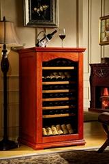 歐式實木恆溫酒櫃產品型號:DK330