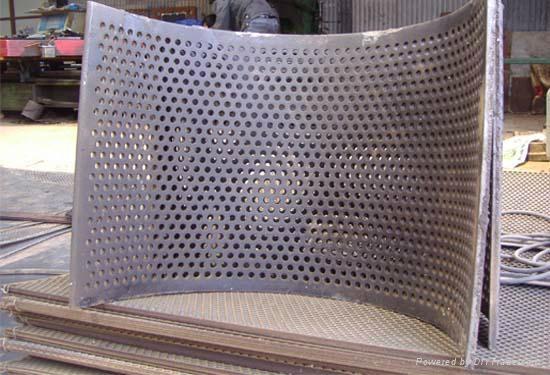厚度钢板钻孔冲孔板 1