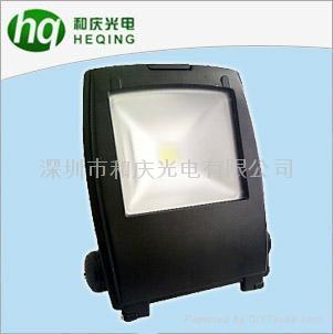專業生產銷售各種高檔LED燈具 按扣式200w氾光燈報價 2