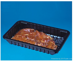 Wholesale Food Packaging Manufacturer Plastic Meat Trays With Absorbent Meat Pad