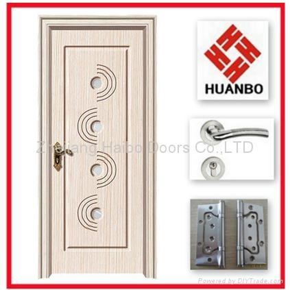 2014 Latest Design Pvc Mdf Interior Wooden Doors Hb 09