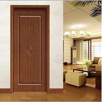 Modern design mdf interior wooden room doors hb 20 for Room wooden door design