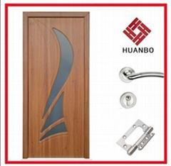 2014 latest design MDF interior PVC flush door