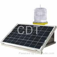 CM-012TMW Solar-Powered Medium Intensity Aviation Obstruction Light type A