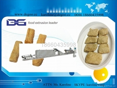 automatic texture vegetable soy bean protein processing line