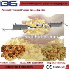 automatic hot air caramel popcorn making machine