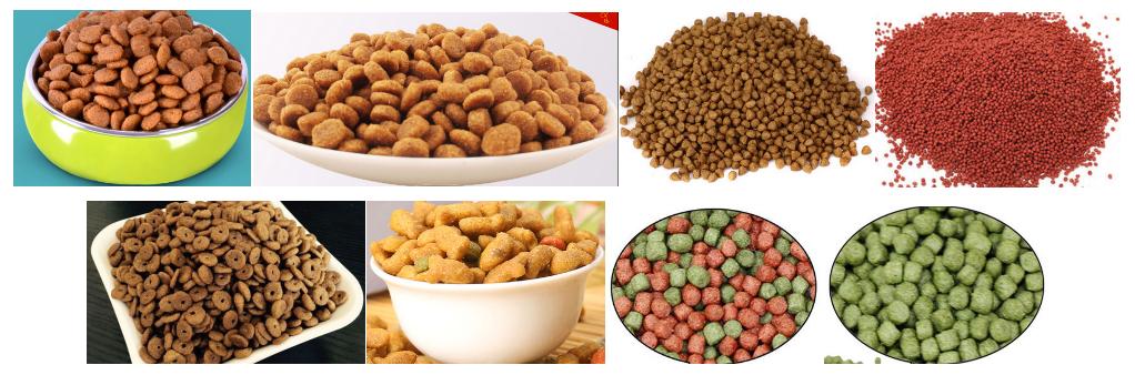 狗咬胶猫粮狗粮鱼粮食品生产线 5