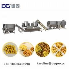 caramel chocolate powder mushroom popcorn production line by Jinan DG Machinery