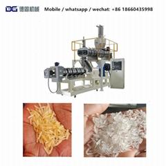 营养大米冲泡米速食米食品挤压机生产线