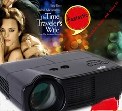 HDMI Full HD LED projector/projektor/projetor/proyector with SD card/DVB-T tv