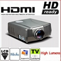 Good LCD video home projector built in TV tuner HDMI support full HD1080p