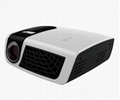 New arrival slim DLP mini projector short throw HDMI VGA USB SD
