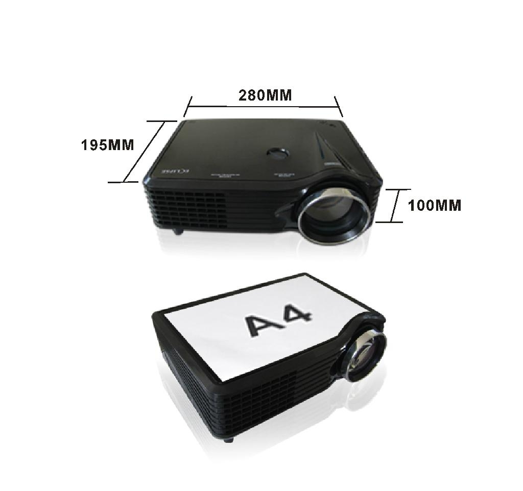Tv Tuner Projector High Definition Home Theater Wxga Full: Good Quality Video Projector LED Full HD HDMI1.4 TV Tuner