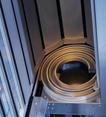 Rapid aluminium turbine lifting door