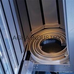 Aluminium rapid rolling door