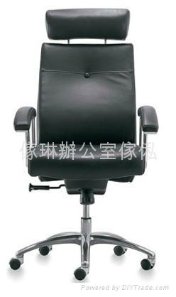 高背大班椅連頭枕 1