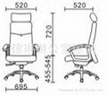 高背大班椅連頭枕 2