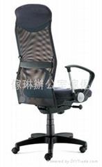 高背大班椅